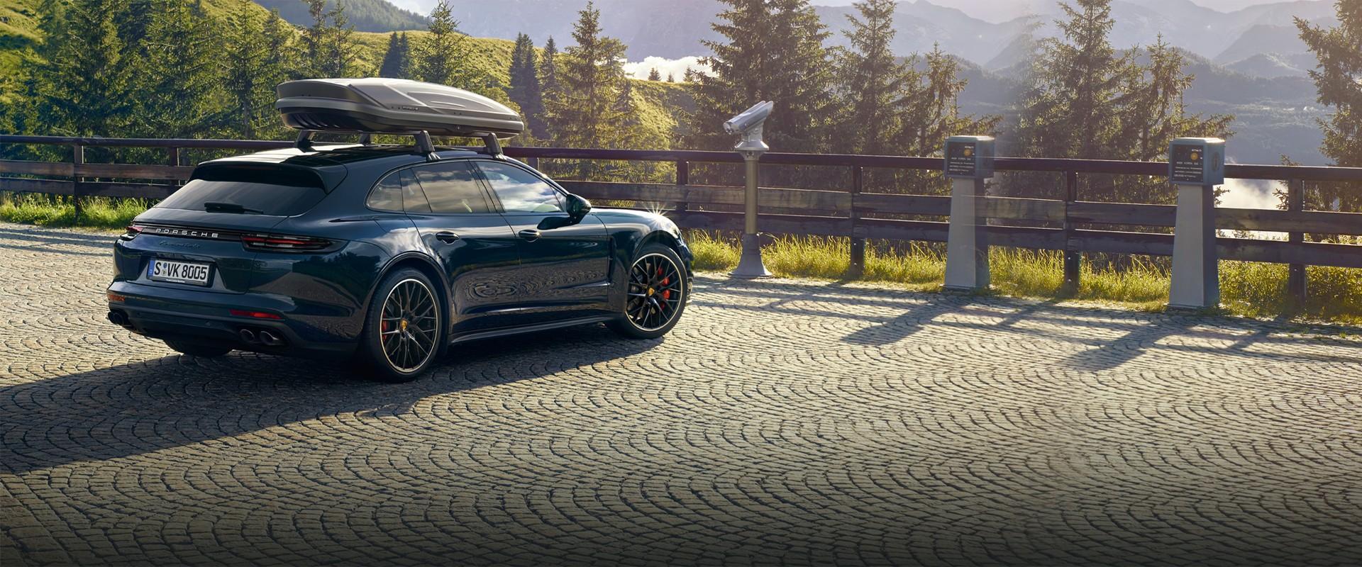Baner przegląd wiosenny Porsche Warszawa